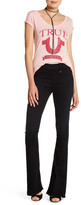 True Religion Runway High Rise Flare Denim Legging