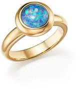 Bloomingdale's Opal Triplet Bezel Set Ring in 14K Yellow Gold - 100% Exclusive