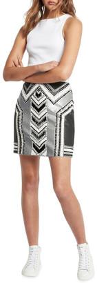 Sass & Bide Horizon Lines Skirt