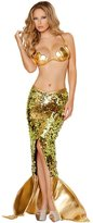 HPLY Women's Cosplay Mermaid Sexy Sequined Dress