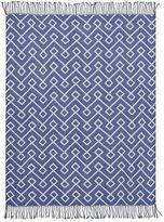Dorm Essential Throw, 46 x 56, Twilight Blue Print
