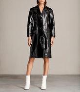 AllSaints Payton Leather Mac