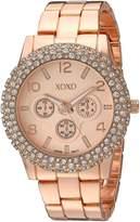 XOXO Women's Quartz Metal and Alloy Automatic Watch, Color:-Toned (Model: XO5935)