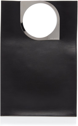 Paco Rabanne Leather Top Handle Bag
