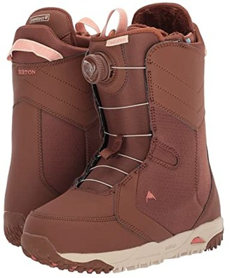 Burton Limelight Boa(r) Snowboard Boot (Brown Sugar) Women's Cold Weather Boots