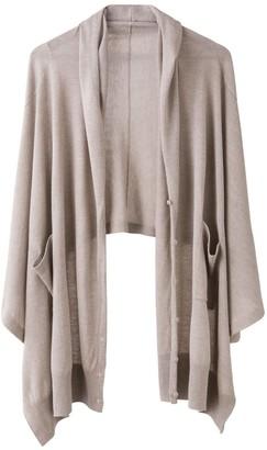 Voya Cashmere Silk Wrap Cardigan