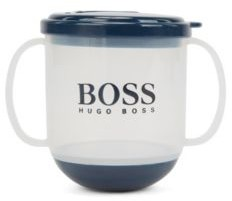 HUGO BOSS Baby cup in BPA-free plastic with printed logo