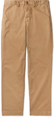 SAVE KHAKI UNITED Cotton-Twill Trousers