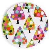 French Bull Dot Tree Side Plate (Set of 4)