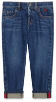 Gucci Girl's Cuffed Jeans