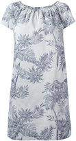 Steffen Schraut floral shift dress - women - Cotton/Spandex/Elastane - 34