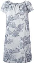 Steffen Schraut floral shift dress - women - Cotton/Spandex/Elastane - 38