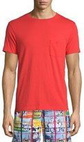 Orlebar Brown Alex II Unwashed Short-Sleeve T-Shirt, Rescue Red