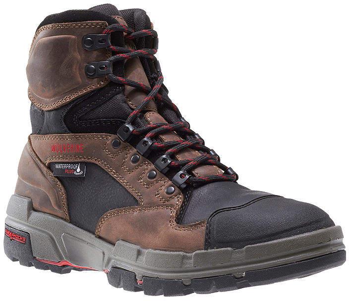 76c2821726d Mens Durashocks Waterproof Slip Resistant Lace-up Work Boots