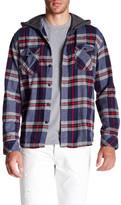 Quiksilver Long Sleeve Regular Fit Hooded Shirt