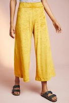 Anthropologie Jazmin Cropped Wide-Leg Trousers