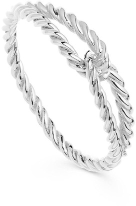 Missoma Silver Twine Ring