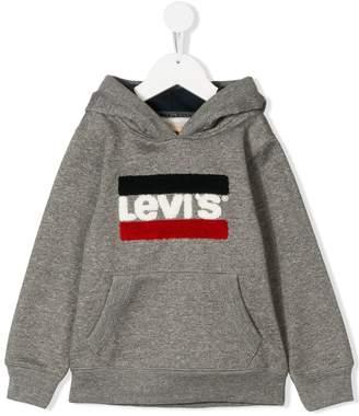 Levi's Kids towelling logo hoodie