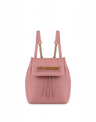 Love Moschino Backpack Logo Lettering