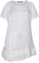 Isolde Roth Plus Size Flared linen tunic