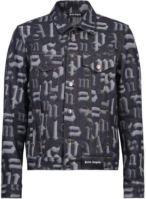 Palm Angels Branded Jacket