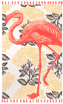 Thomas Paul Flamingo Tassel Cotton Rug