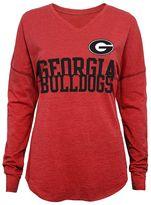 Juniors' Georgia Bulldogs Split Long-Sleeve Tee