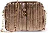 Vanessa Seward Metallic quilted leather shoulder bag