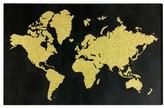 Wynwood World Map Canvas Wall Art