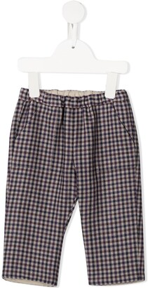 Bonpoint Thursday checked trousers