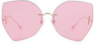 For Art's Sake 61MM Starlight Geometric Sunglasses