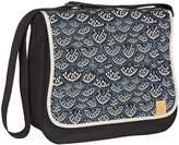 Lassig Basic Messenger Diaper Bag includes Changing Mat, Bottle Holder and Stroller Hooks