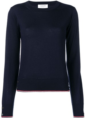 Thom Browne RWB Tipping Cashmere Pullover