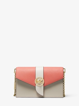 MICHAEL Michael Kors Medium Color-Block Leather Crossbody Bag
