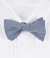 Daniel Cremieux Mini Net Silk Bow Tie