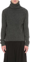 Isabel Benenato Roll-neck wool jumper