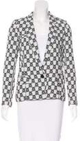 Isabel Marant Notch-Lapel Brocade Blazer