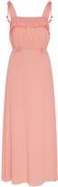 No.21 No. 21 Silk Blend Ruffle Detail Dress