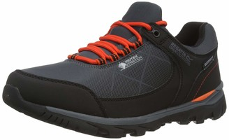 Regatta Men's Highton Stretch' Waterproof Breathable EVA Footbed Rubber Outsole Hiking Shoes Walking