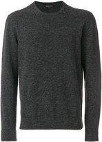 Roberto Collina crew neck sweater - men - Polyamide/Spandex/Elastane/Alpaca/Merino - 48