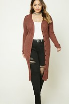 Forever 21 FOREVER 21+ Plus Size Button-Down Cardigan