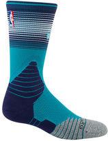 Stance Men's Charlotte Hornets NBA Logo Crew Socks