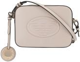Emporio Armani logo embossed camera bag