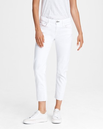 Rag & Bone Dre low-rise boyfriend - white