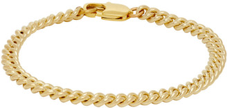 Laura Lombardi Gold Curb Chain Bracelet
