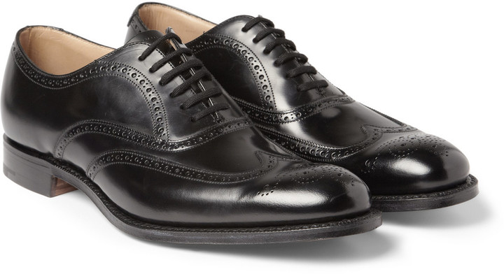 Church's New York Leather Wingtip Brogues