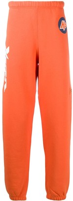 Heron Preston Logo-Print Straight Leg Track Pants