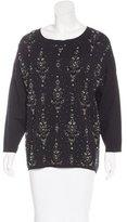 Dries Van Noten Wool Embellished Sweater