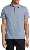 Claiborne Short-Sleeve Slim-Fit Polo