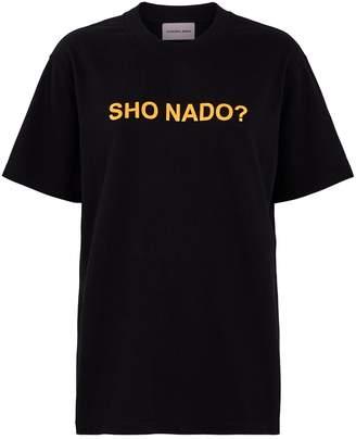 Natasha Zinko Cotton Slogan T-Shirt